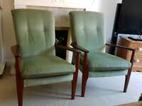 Pair of Vintage Parker Knoll PK1118-26. Both in Excellent Condition.