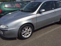 Alfa Romeo 1.6 3-dr Silver Long MOT Full Service £550