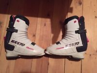 Raichle RX 670 ski boots, men's size 9, made in Switzerland, good condition