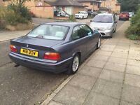 LOW MILEAGE BMW 323i COUPE GREAT CONDITION RELIABLE CAR SERVICE HISTORY