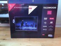 "Techwood 26"" TV and DVD player"