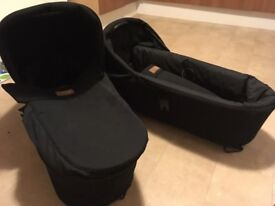 2 BRAND NEW MOUNTAIN BUGGY CARRY COTS