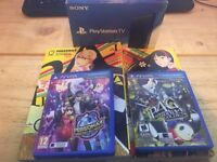 PlayStation TV with Persona 4: Golden & Persona 4: Dancing all Night & extras