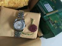 LADIES Rolex Datejust Silver Dial