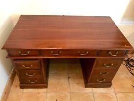 Wooden Desk from France