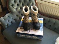 Ladies trespass snow boots