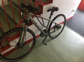 Carrera hybrid bicycle! 2 weeks old only