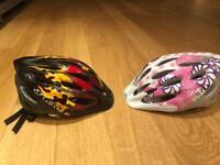 Children's Giro cycle helmets - £5 each