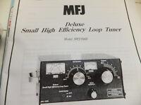 Ham Radio MFJ 936B Loop tuner