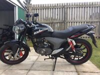 KSR Code 125cc 2015. 900 miles. Perfect first bike. Gear indicator. Great condition.