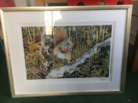 Signed Watercolour painting