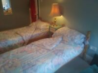 Two Single Beds, Mattresses and Bedding for Sale