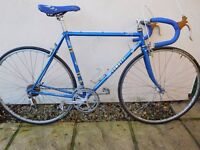 Italian Comotti steel frame race bike