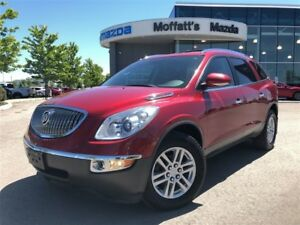 2012 Buick Enclave CX 3.6L V6, FWD, PERFECT FOR THAT GROWING FAM