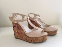 Nude colour Wedges