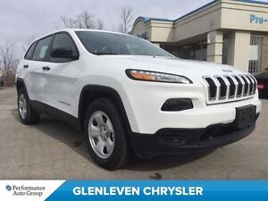 2016 Jeep Cherokee DEMO 5.0 UCONECT WITH BLUETOOTH, 4X4