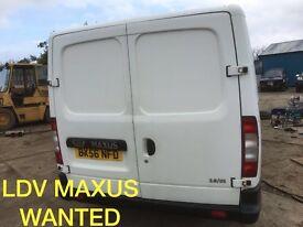 Ldv Maxus van wanted
