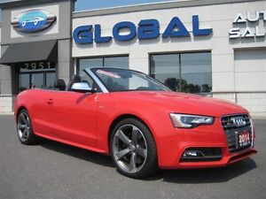 2014 Audi S5 ONLY  4,523  KM!!!  ALMOST NEW