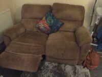 2 seats reclining sofa