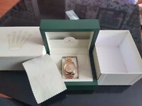 GENTS ROLEX OYSTER PERPETUAL DAY-DATE CHRONOMETER F18038 18 CT GOLD PRESIDENT BRACELET