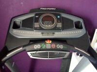 Proform 600i Folding Treadmill ProShox™ Cushioning I-fit capable, hardly used,