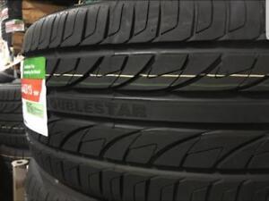 4 Pneus dete Neufs Doublestar 225/55R17 / 4 Summer tires new Doublestar 225/55/17