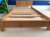 Solid Wooden Single Bed - Child's 1st Bed? Offers Welcome