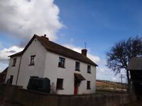 4/5 Bedroom Unfurnished Farmhouse, in Countryside 1.5 miles from Crediton