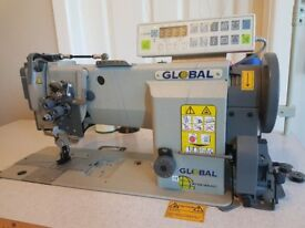 Global WF 926 SNB AUT Industrial Heavy Duty Sewing Machine - Automatic Features, Computerised