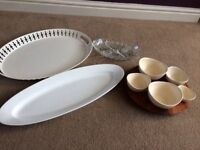 Serving platters - selling/item