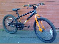 X - Rated Exile Professional Dirt Jump Bike - 24 inches - straight - double wheels !