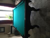 DLT Tiburon Pool Table