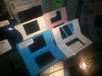 Nintendo DSi Blue Pink Black White