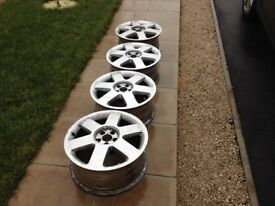 Genuine Audi alloy wheels 17' (full set, 4x)