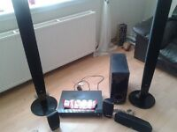 LG sound surround system with DVD player 500 wat