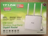 TP-Link AC1900 Wireless Gigabit Router (Archer C9)