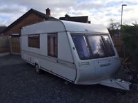 Four berth caravan