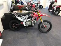 Cw160r cw racing pit bike cost over £1400 2 weeks ago with supermoto wheels px jetski