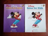 Disney Solos for Kids 2 books with CD's