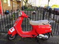 Vespa LX 125 2007 Red Great Condition