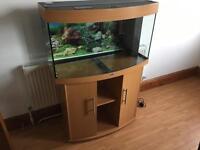 Juwel vision bow 180 like NEW full setup aquarium fish tank