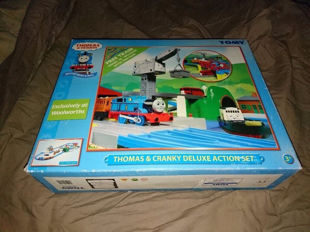 Thomas & Cranky Deluxe Action Set - NEW CONDITION