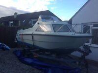 Shetland Cadet 16Ft 30hp outboard 4 stroke inc. trailer