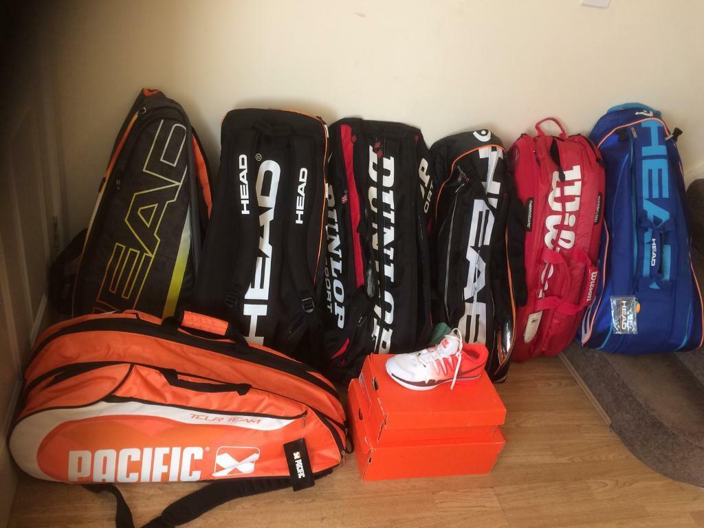 best service fb3b1 06cdb Tennis Tour Bags x 7 plus 2 x Women's Nike Vapour tennis shoes size UK6.5 |  in Fulwood, Lancashire | Gumtree