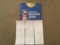 Panini World Cup stickers Russia 2018