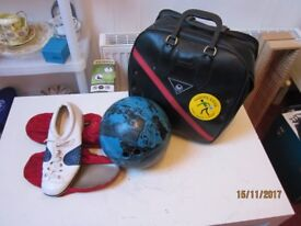 Bowling Ball (Tenpin) Bag and Shoes