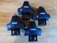 Thule Foot Pack 754 with Fitting Kit 1543