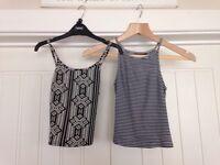 New look Cami vests size 8