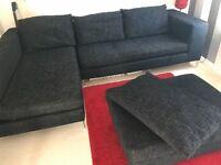 DFS Corner Sofa - fabric