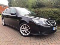 Saab 9-3 1.9 TiD Vector Sport SportWagon 5dr Service History Mot Oct 18 Parking Aid Aero Alloys